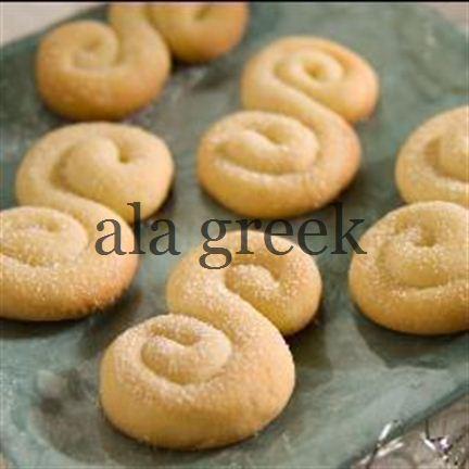 Griechische Butter Biscuits