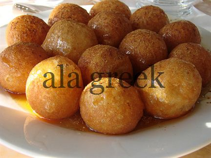 Loukoumades – Honey Puffs