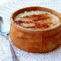 Rizogalo (Greek rice pudding)